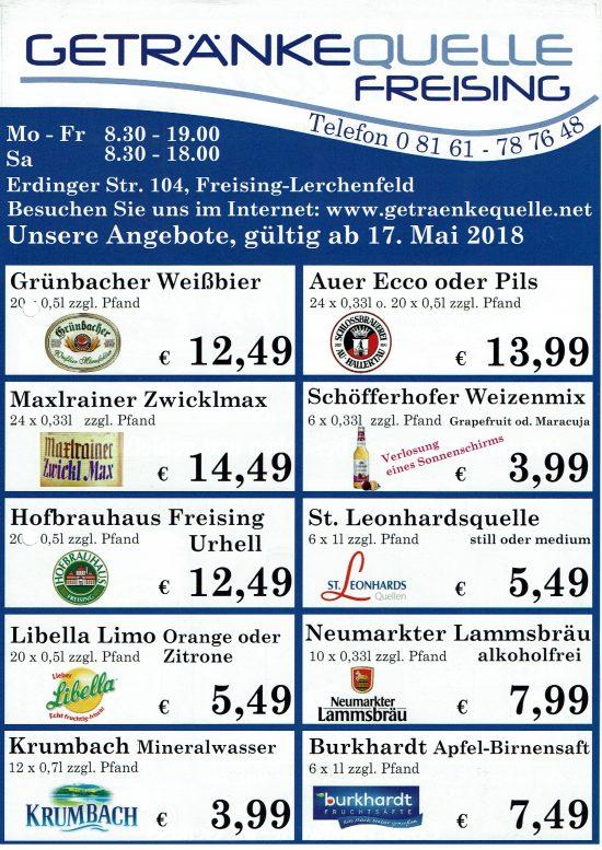 Nett Getränke Quelle Angebote Zeitgenössisch - Die Kinderzimmer ...